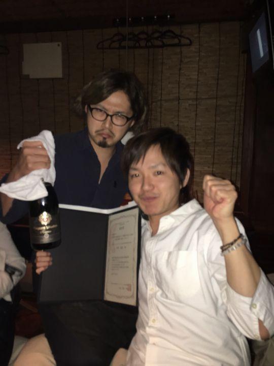 北原氏と木村先生