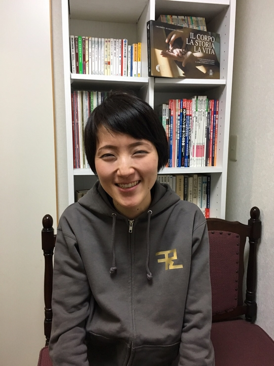 理学療法士濵田